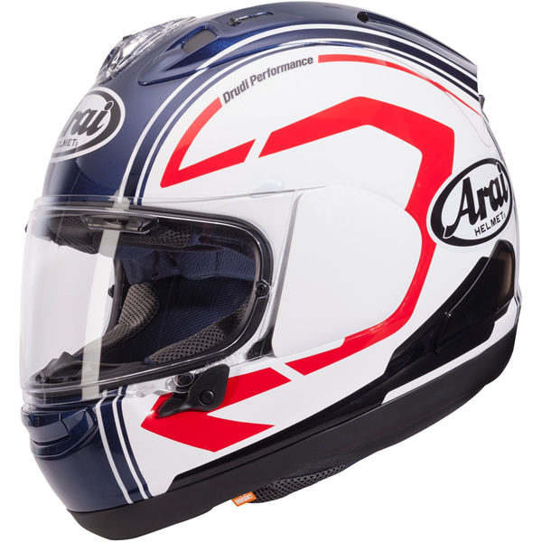 Casco Arai RX-7V Statement Blanco