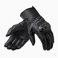 FGS154_Gloves_Chevron_3_Black_Long_front_1