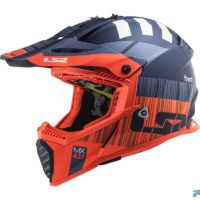 Casco-Ls2-Mx437-Fast-Evo-Xcode-Matt-Fl.orange-Blue-1