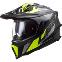 micasco-ls2-MX701-EXPLORERC-FOCUS-MATT-TITANIUM-H-V-YELLOW-407016207-700x700